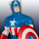 Jumbo Captain America Action Figure for Sale
